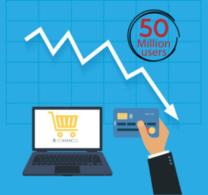 Indian e-commerce loses 50 million users in online shopping