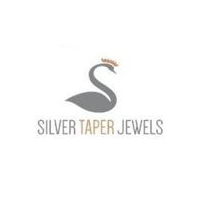 Silver Taper Jewels Syncom Logo India